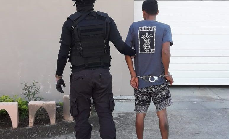 Detenido en Puntarenas